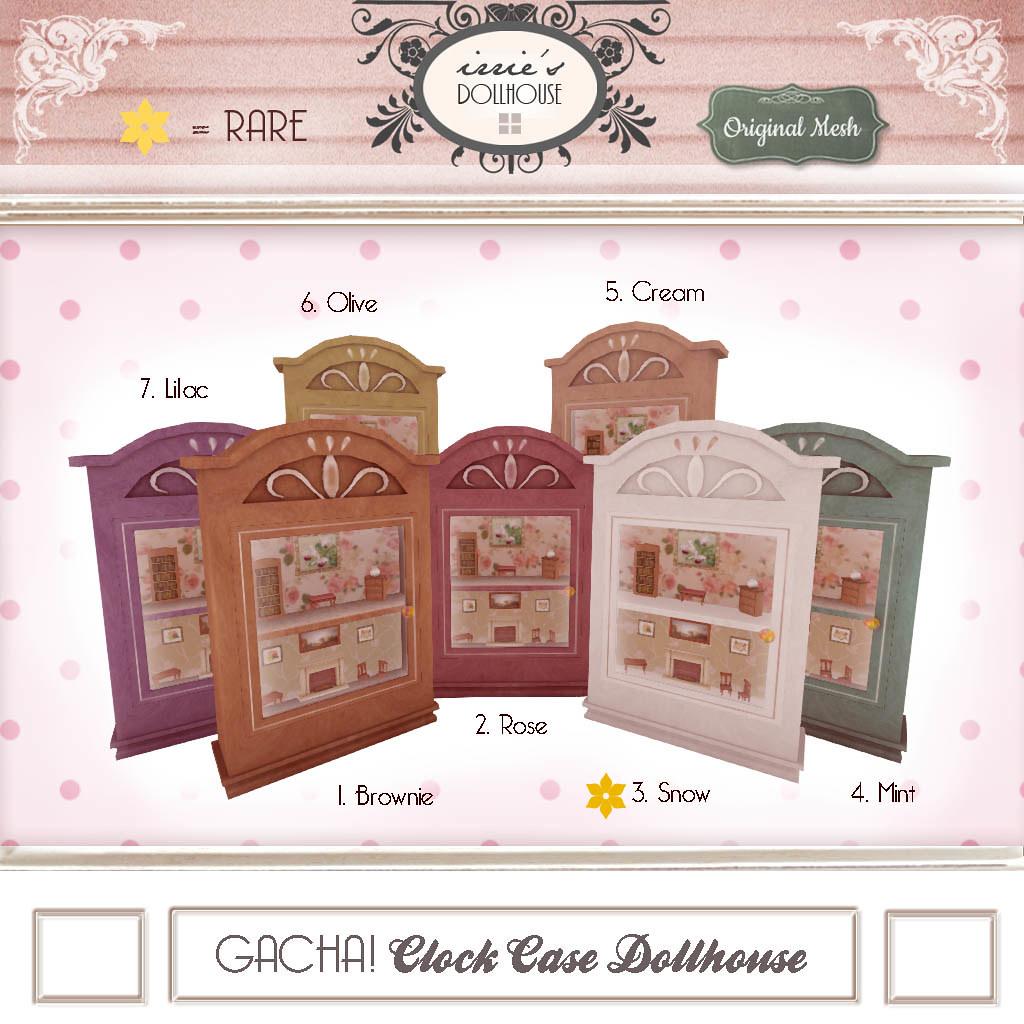I { DH } Gacha! Clock Case Dollhouse