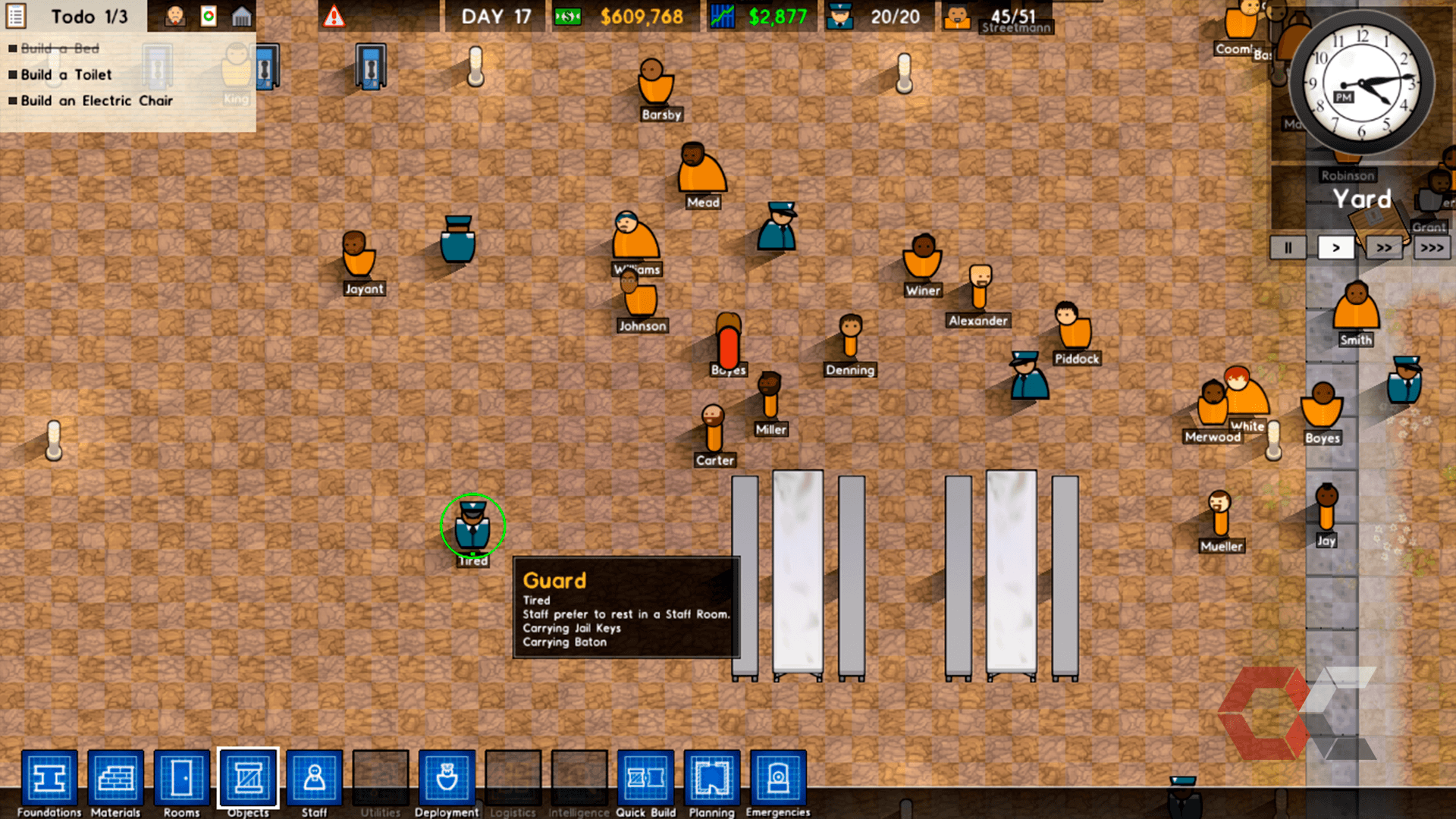 prison architect review - overcluster 5