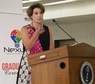 Charge d' Affaires MaryKay Carlson Remarks on Nexus Startup Hub - July 21, 2017