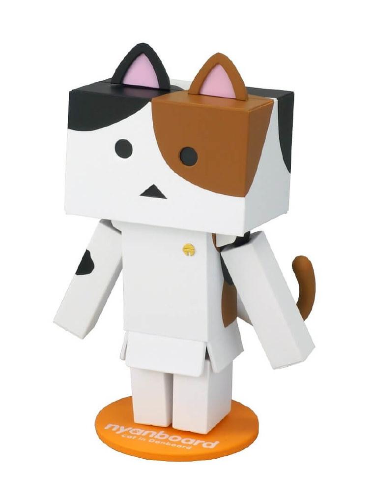 貓咪阿楞「三花種」賣萌現身!リボルテックニャンボー・ミニ [ミケ]