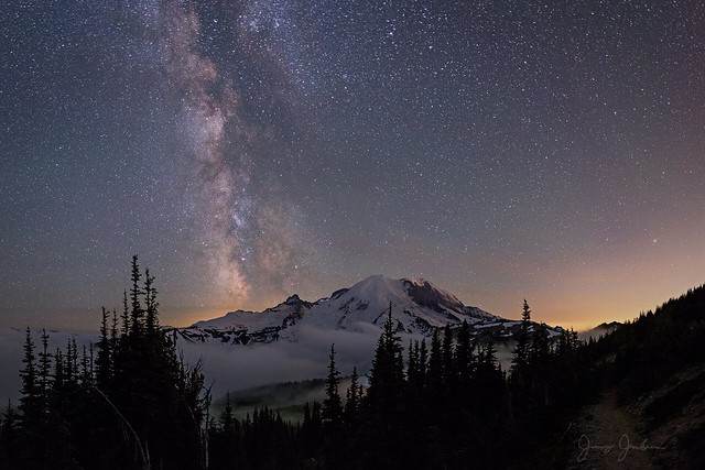 Mount Rainier Nightscape