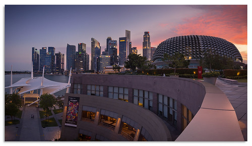 singapore esplanade 2017 d600 sunset ngc nikonfxshowcase nikkor1635mmf4 cityscape