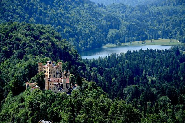 Hohenschwangau Castle, Fussen, Germany, Nikon D3300, AF-S VR Zoom-Nikkor 200-400mm f/4G IF-ED