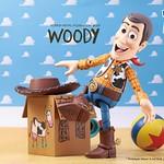玩具人們最好的夥伴!!HEROCROSS HMF 系列 玩具總動員【胡迪】Toy Story Woody 經典登場!!