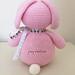 Big Pink Bunny Tail