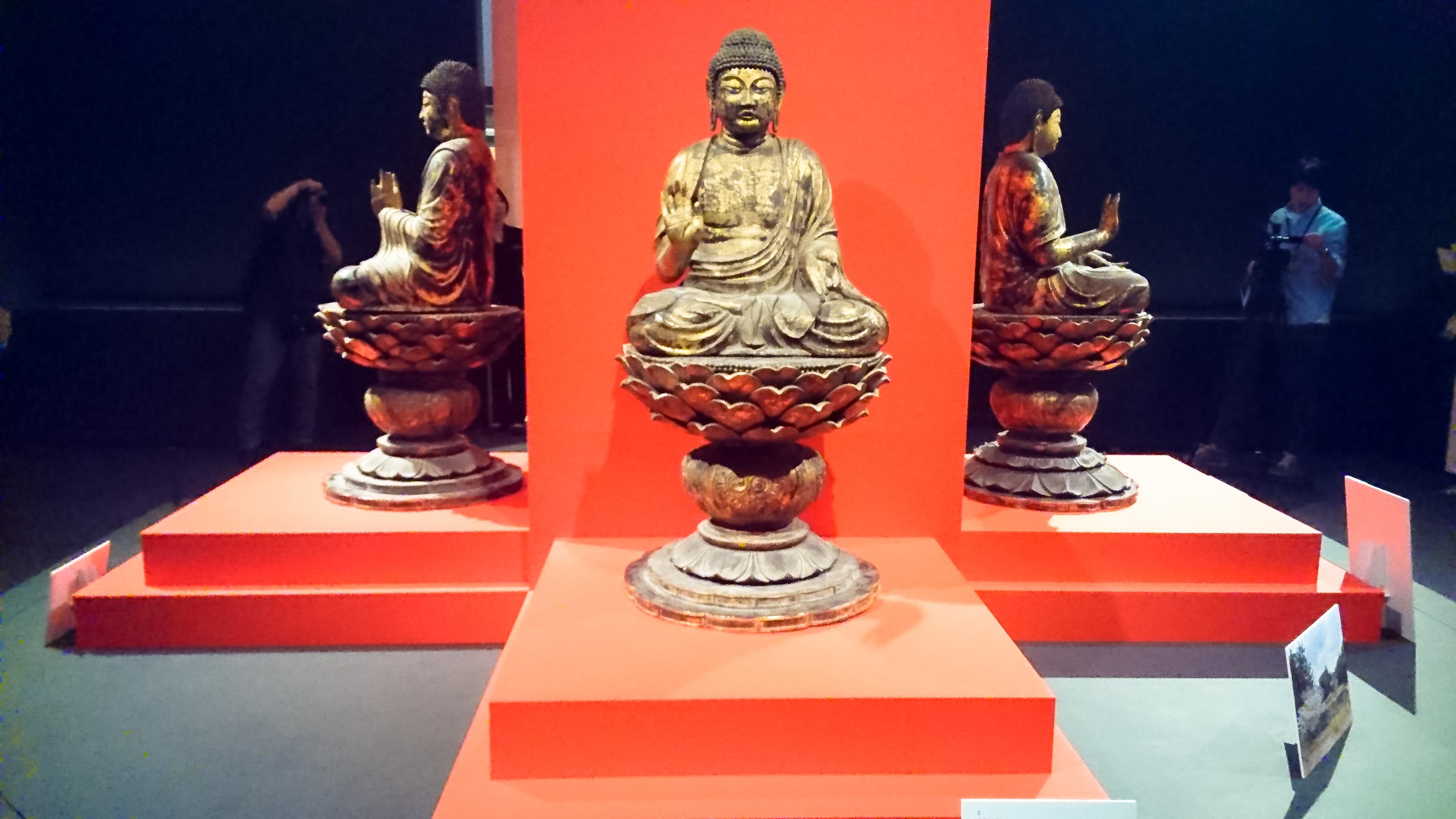 重要文化財《塔本四仏坐像》(奈良時代、西大寺)