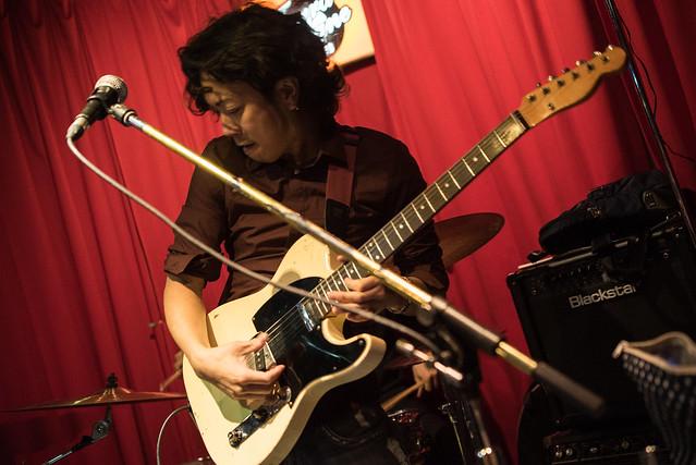 the AstroBluenauts live at Terraplane, Tokyo, 28 Jul 2017 -00476