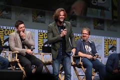Jensen Ackles, Jared Padalecki & Andrew Dabb