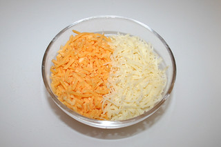 10 - Zutat geriebener Käse / Ingredient grated cheese