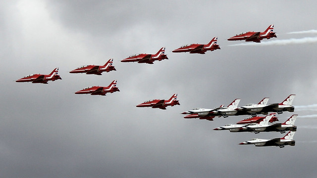 Red Arrows & Thunderbirds