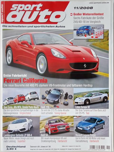 Image of sport auto 11/2008