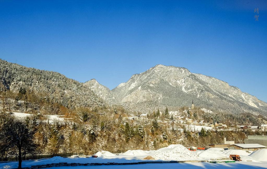 Graubünden scenery