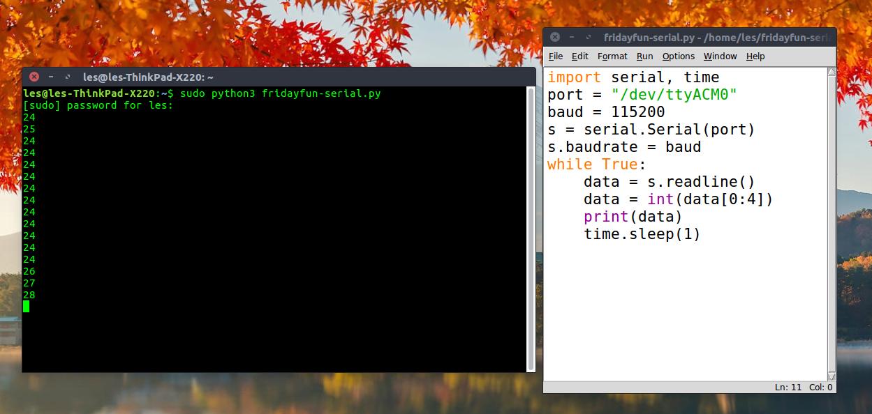 Friday Fun: Sending Serial Data From micro:bit to laptop