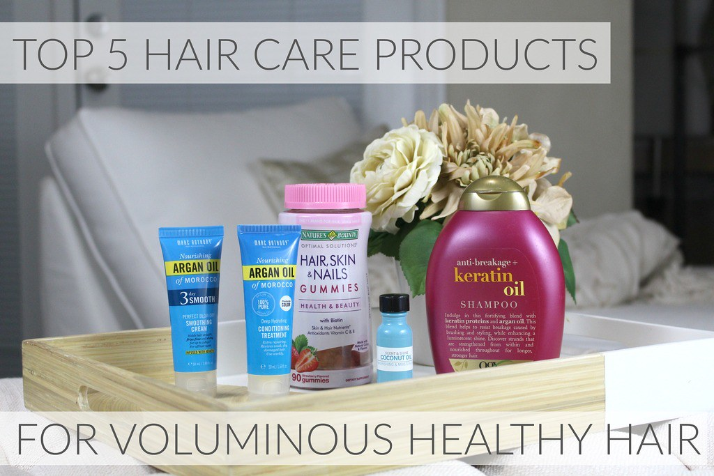 best hair care products for voluminous healthy long hair