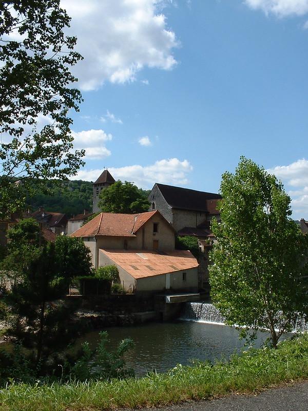 Marcilhac-sur-Célé - Le moulin à eau de Marcilhac (bourg)