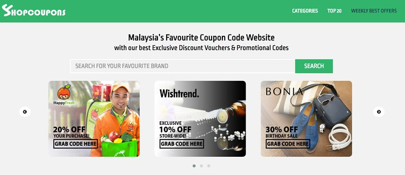 ShopCoupons – Platform Komuniti Berbelanja Secara Jimat