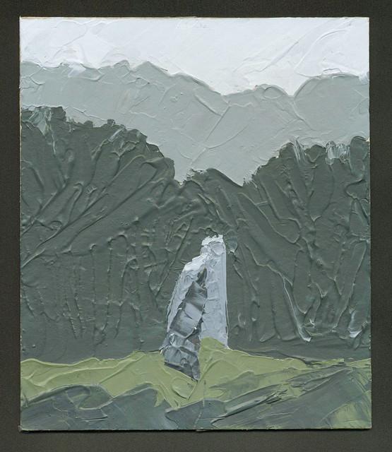 Gorsedd Standing Stones - Original Painting by Steve Greaves
