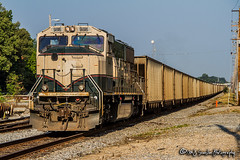 BNSF 9816 | EMD SD70MAC | NS Harris Yard