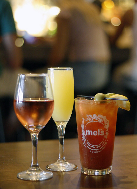 Bottomless Brunch at Mel's Burger Bar
