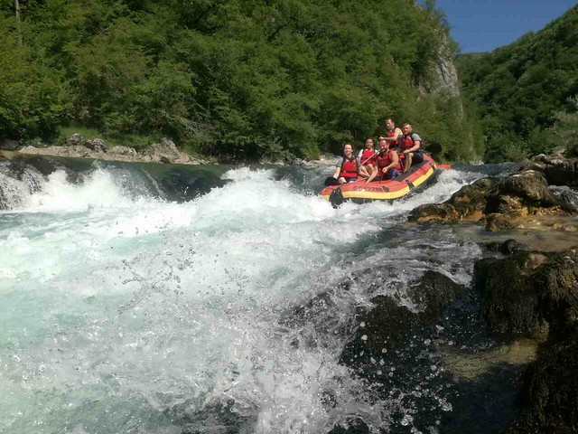 Neretva raft full of fun
