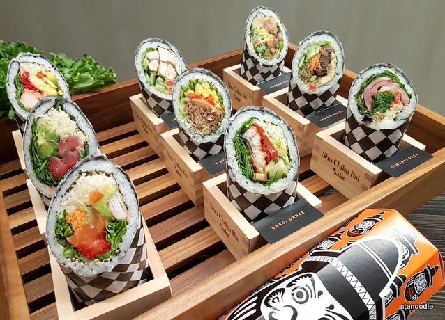 Mi'hito Sushi Laboratory sushi burritos