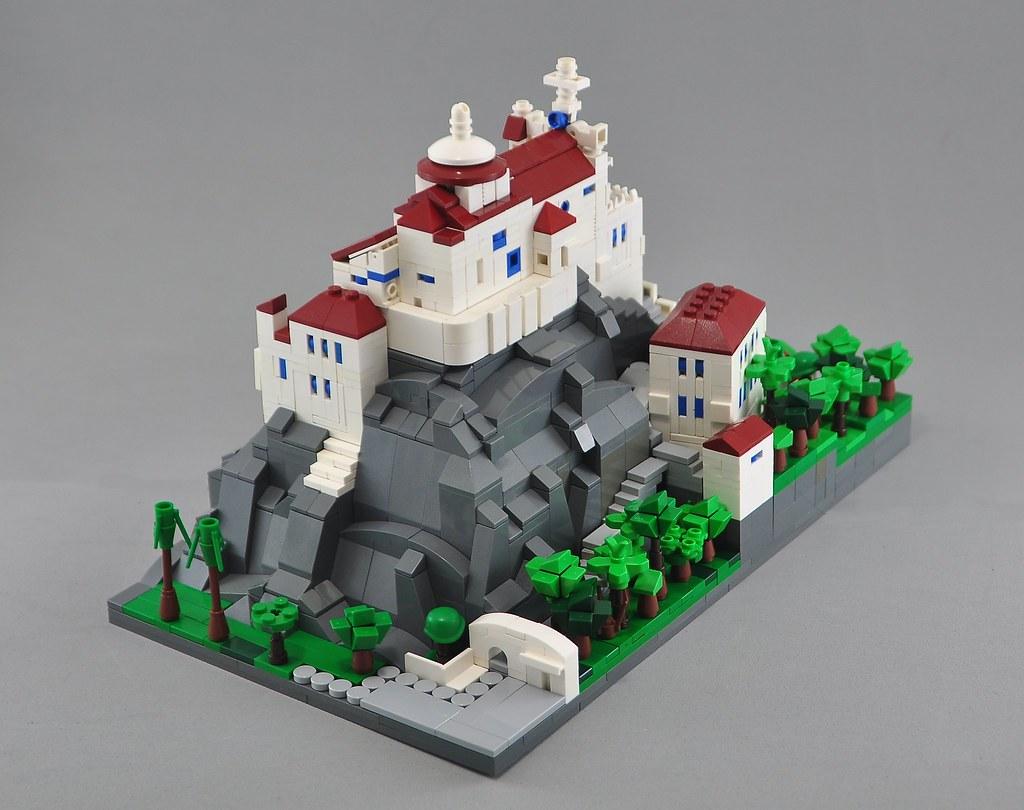 Convento da Penha (custom built Lego model)