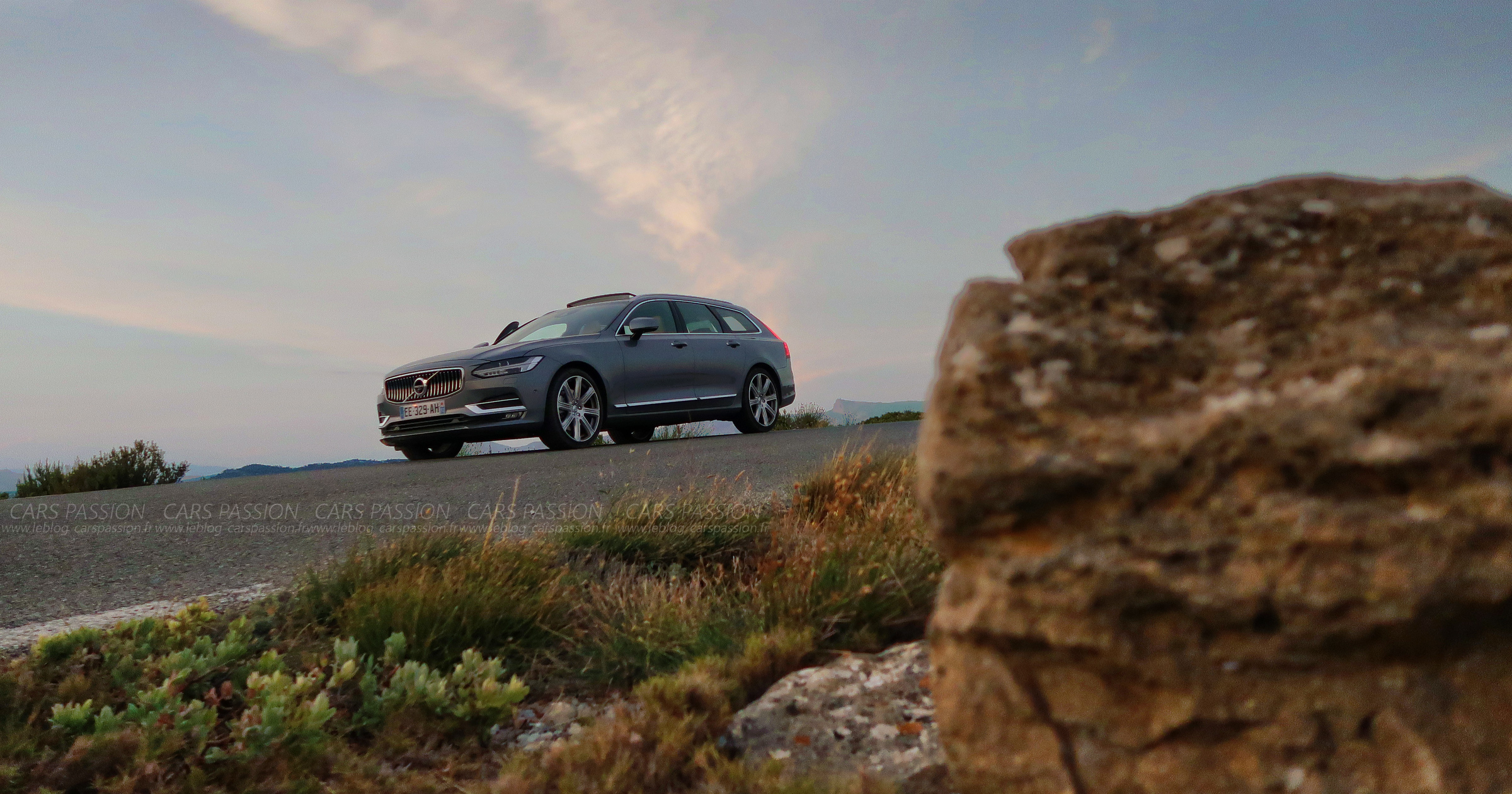 Essai Road Trip Volvo V90 D5 Inscription sur http://www.leblog-carspassion.fr/