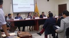 Consejo de Derechos de Chone participó de Foro Académico organizado por Asamblea Nacional