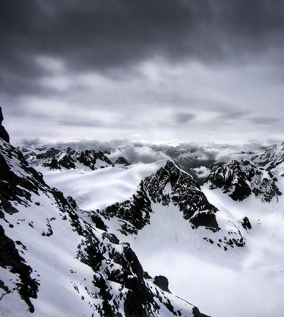 Subtle Shades of Snow, Olympus E-M5, Lumix G Vario 7-14mm F4.0 Asph.