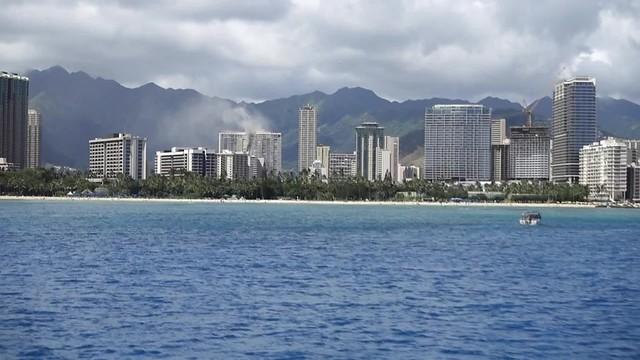 fire in a Honolulu Condo
