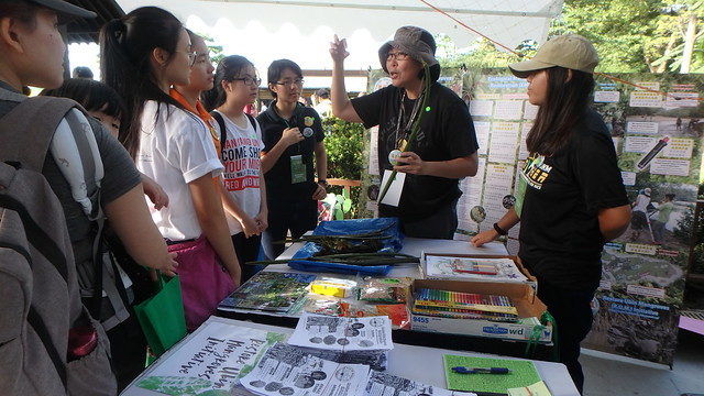 R.U.M. booth at Pesta Ubin 2017
