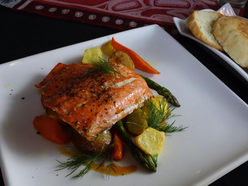 Salmon and Bannock