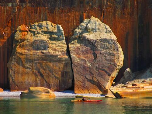 Pictured Rocks National Lakeshore, Michigan. Photographer Joann Kraft