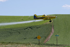 Crop Dusting in the Palouse 2