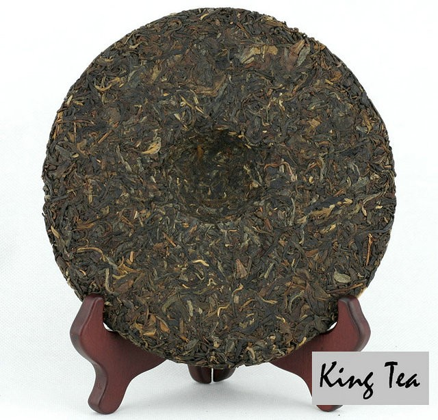 Free Shipping 2007 LaoManEr 7668 Cake 357g China YunNan MengHai Chinese Puer Puerh Raw Tea Sheng Cha Premium Slim Beauty Weight Loss