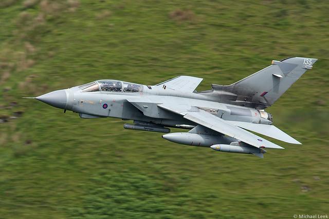 RAF Panavia Tornado GR4 ZG777/135, 15 (R) Squadron, RAF Lossiemouth