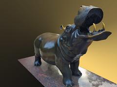 'Hippo' on the George Washington University Campus Washington (DC) July 2017