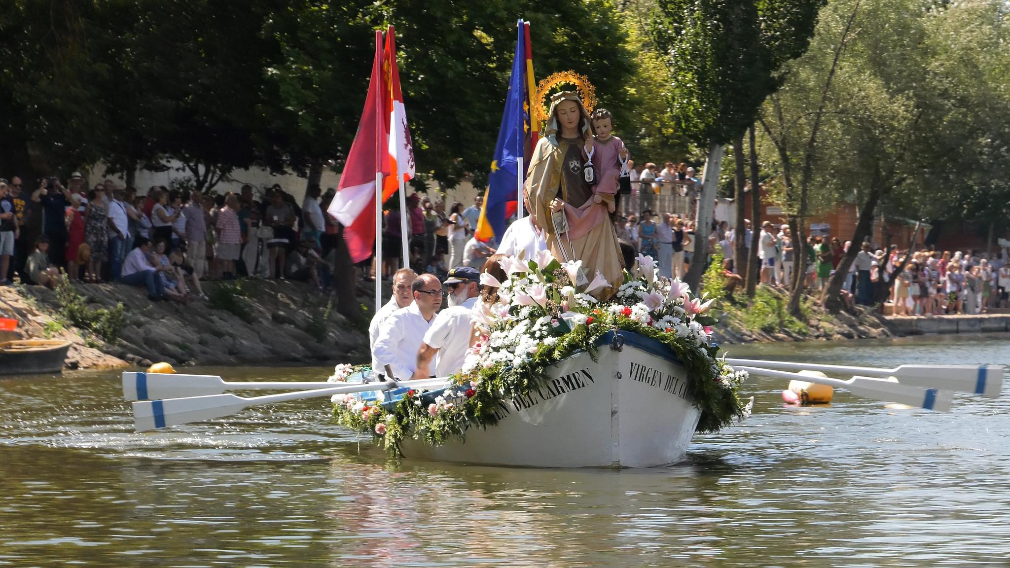 16-7-2017 - Misa y procesión fluvial Fiesta Ntra. Sra. del Carmen
