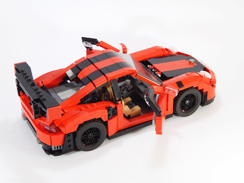 2018 porsche 911 gt2 rs a lego creation by alexander paschoaletto. Black Bedroom Furniture Sets. Home Design Ideas