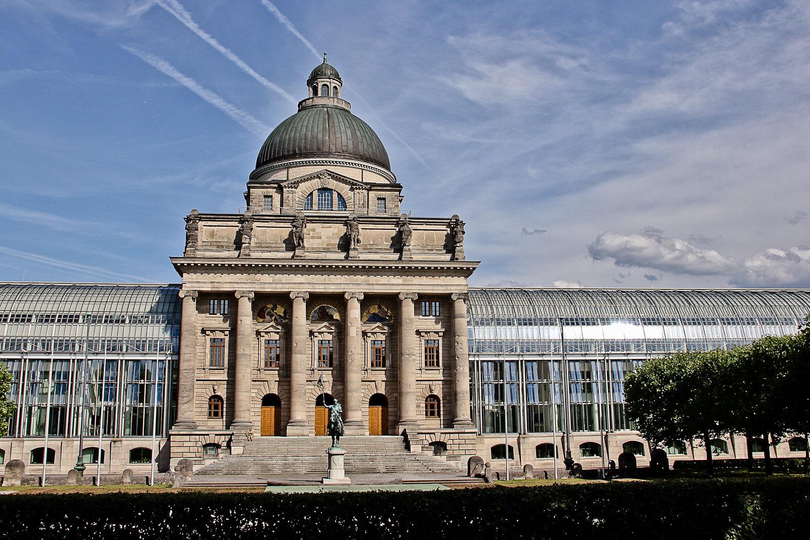 Bayerische Staatskanzlei (Bavarian State Chancery), Munich