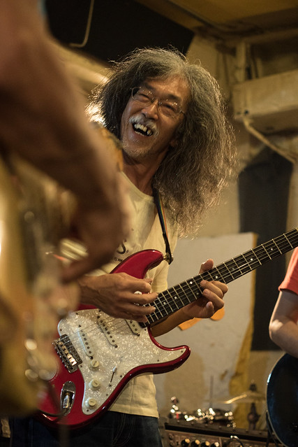 Johnny Winter Tribute Festival 6 - しびれなまずブルースバンド live at Golden Egg, Tokyo, 16 Jul 2017 -7S-00308