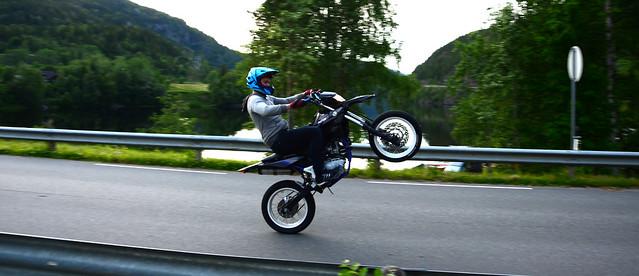 Norwegian stuntman