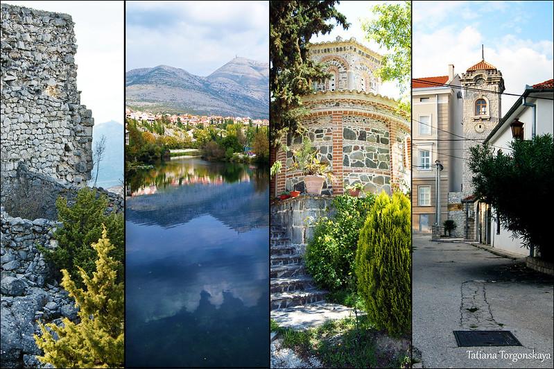 Требинье: австро-венгерская крепость, Требишница, монастырь Тврдош, Часовая башня в Старом городе