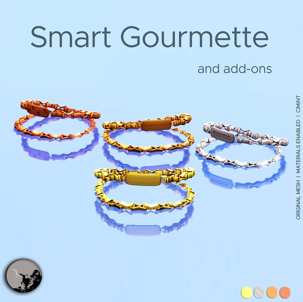 Smart Gourmette-Unisex @ Lost & Found July - SecondLifeHub.com