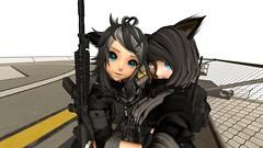 Battle buddies! :)