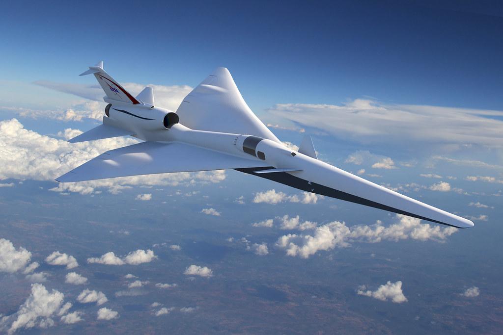 Quiet Supersonic Technology X-Plane Concept