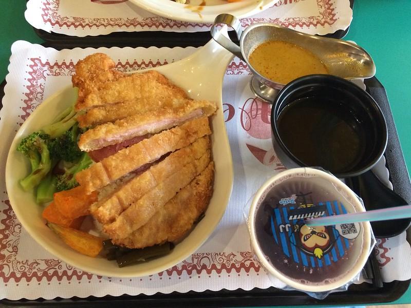 新加坡咖哩豬排
