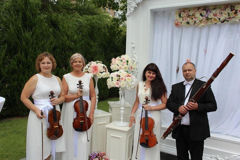 """Квартет """"Creativ"""" - превосходное звучание вашей свадьбы и любого торжества! > Фото из галереи `О компании`"""