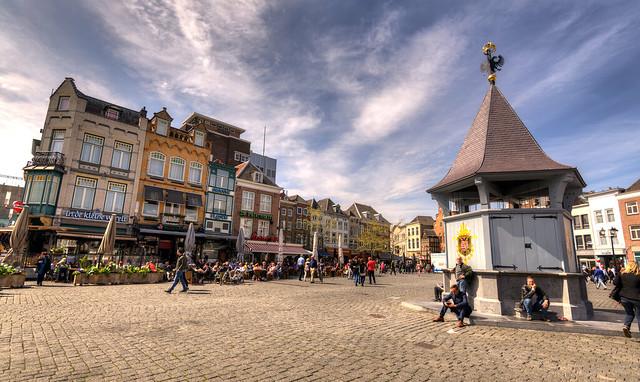 Marktplein 's-Hertogenbosch.