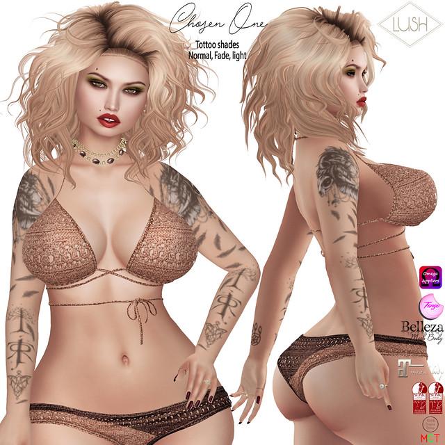LUSH Chosen One_tattoo